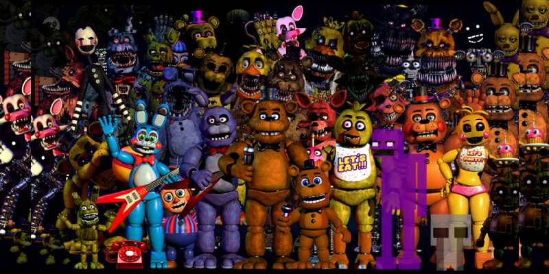 Quiz: What Five Nights At Freddys Character Are You Like Most?