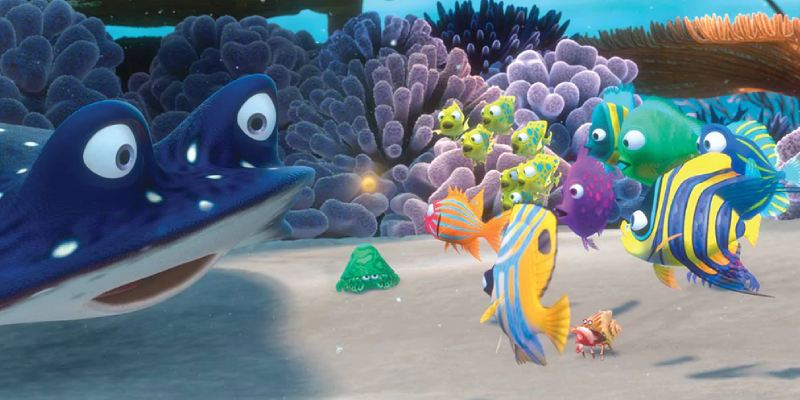 Quiz: Which Disney Fish Are You Based On The Food You Choose?