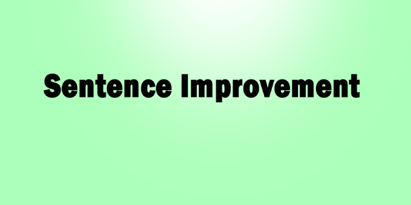 Ultimate English Trivia Quiz On Sentence Improvement