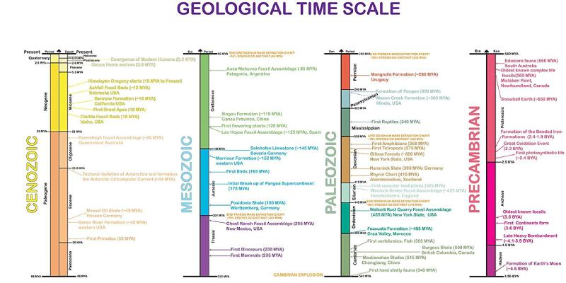 Check Your Knowledge About Geological Time Scale Quiz! Can You Pass Geological Time Scale Trivia Quiz Test