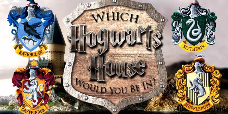 Which Harry Potter House Are You Quiz