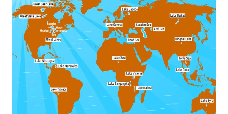 Major Lakes Of The World Quiz: How Much You Know About Major Lakes Of The World?
