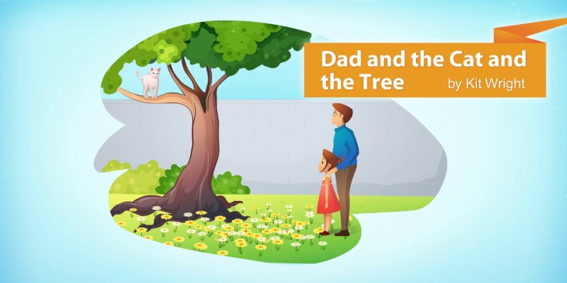 Dad and The Cat and the Tree Poem for 7th Grade Student Quiz