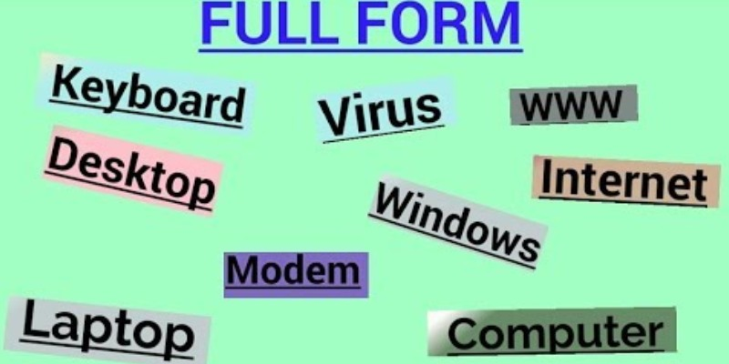 Quiz: Do You Know The Full Forms Of These Common Words?