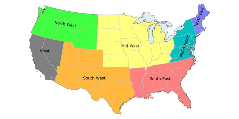 What US Region Is Right For You Quiz