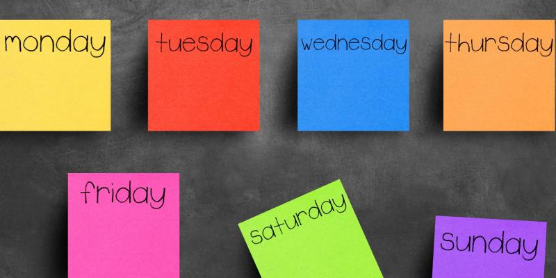 Which Day Of The Week You Are Quiz
