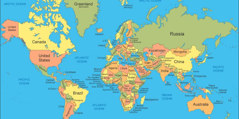 Quiz: How Much Do you know About World Map?