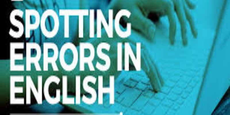 Quiz: English Common Error Online Test
