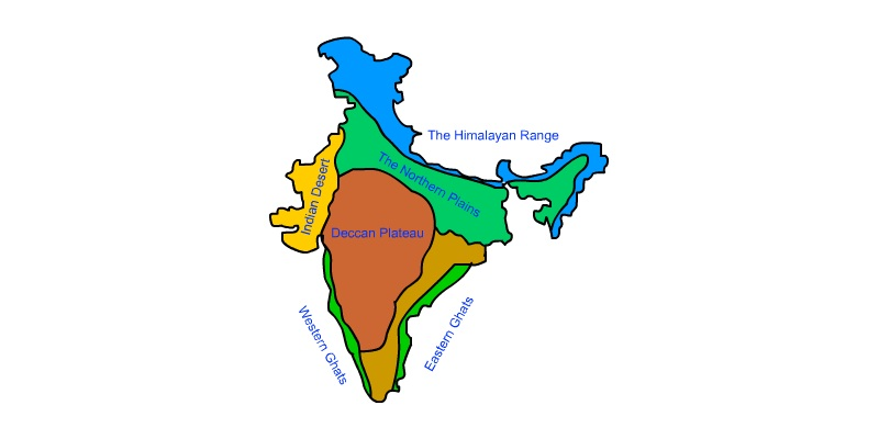 Geography Of India-l Quiz: How Much You Know About Geography Of India?