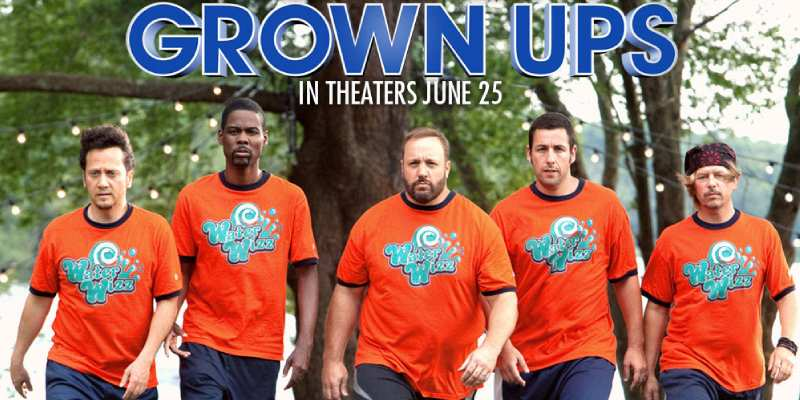 Ultimate Trivia Quiz on Grown Ups Movie! How Much You Know About Grown Ups Movie?