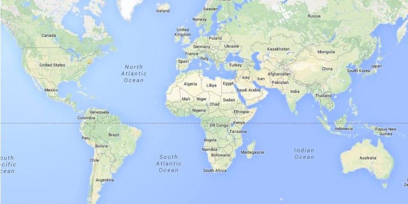 Maps Trivia Quiz For 6th Grade Students
