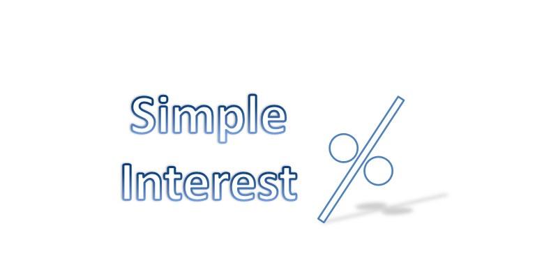 Simple Interest in Mathematics Online Test Quiz